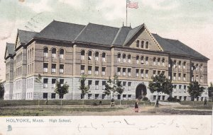 HOLYOKE , Massachusetts , 1908 ; High School ; TUCK