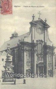 Fa¡ade de I'Eglise des Jesuites Malines, Belgium Postal Used Unknown, stamp ...