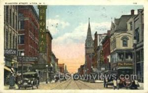 Bleecker Street Utica NY 1927