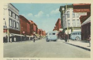 PETERBOROUGH, Ontario, Canada, 1930-50s; George Street