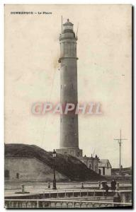 Old Postcard Dunkirk Lighthouse