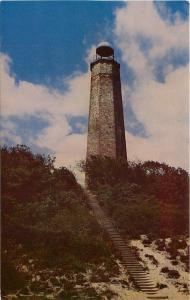 Cape Henry VA~Old Lighthouse The First Lighthouse Erected in 1791~1950s Postcard