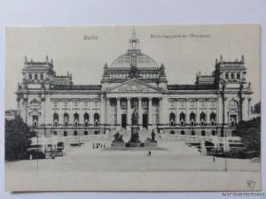 c1910 - Berlin - Reichstagsgebaude (Westsetie)