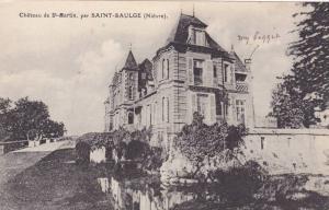 Chateau de St. Martin, par SAINT-SAULGE, Nievre, France, 00-10s