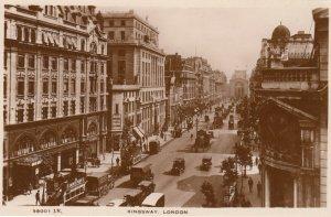 RP: LONDON , England, 1900-10s ; Kingsway