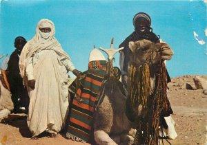 Libya Gadames tuareg mehari view