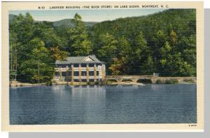 Montreat, North Carolina/NC Postcard, Book Store, Near Mint!