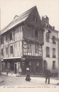 VANNES , France , 00-10s ; Maison ayant appartenue a Gilles de Bretagne