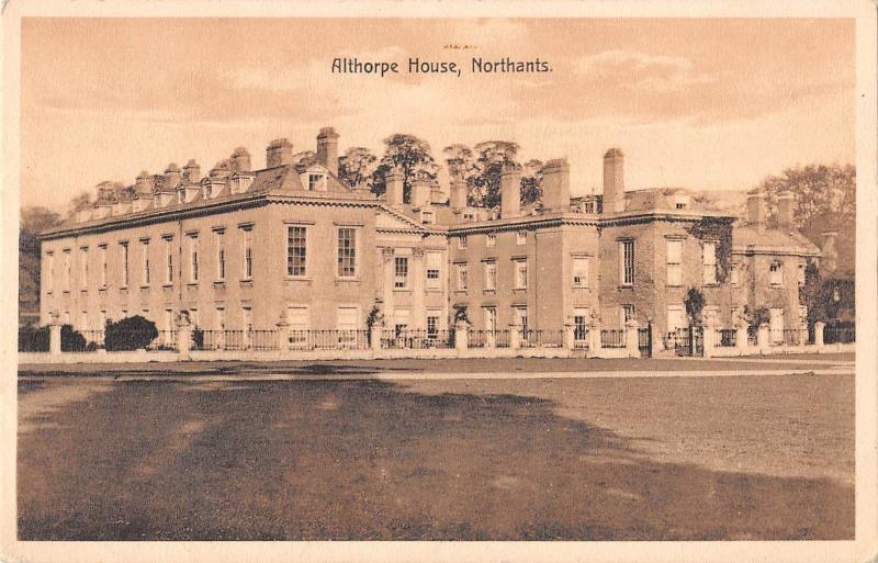 BR94077 althoorpe house northants   uk