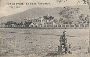 Port-Au-Prince , HAITI , 1900-10s ; Le Palais Presidentiel