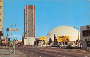 Hollywood California~Sky Line On Sunset Boulevard~1960 Postcard