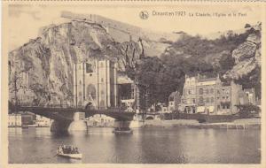 Belgium Dinant La Citadelle L'Eglise et le Pont