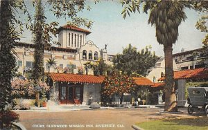 Court Glenwood Mission Inn Riverside CA
