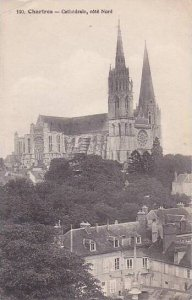 France Chartres Cathedrale cote Nord