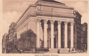WINNIPEG, Manitoba, Canada, PU-1913; Bank Of Montreal