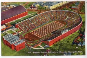 Memorial Stadium, University of Minn, Minneapolis MN