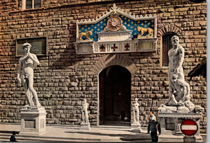 Italy Firenze Citta' D'Incanto Entrance To The Old Palace