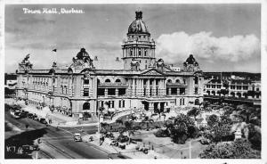 South Africa Durban Town Hall, City Hall, Auto Cars Tram 1939