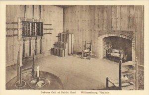 Virginia Williamsburg Debtors Cell Of Public Gaol Albertype
