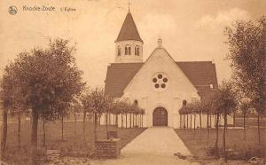 Belgium Knocke Zouter L'Eglise Church Kirche