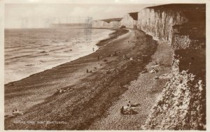 RP: Near EASTBOURNE, Sussex, England, PU-1926; Birling Gap