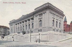 SEATTLE , Washington , 1913 ; Library