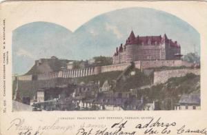 Chateau Frontenac and Dufferin Terrace, Quebec,  Canada, 00-10s