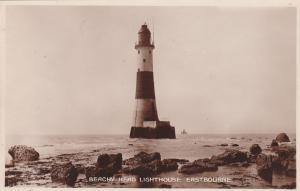 RP; EASTBOURNE, Sussex, England, UK, 1920-1940s; Beachy Head Lighthouse