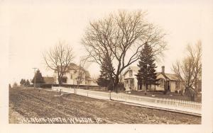 Welton IA~Nice Homes (Vergeboard) Behind Picket Fence~Dirt Rd RPPC c1909