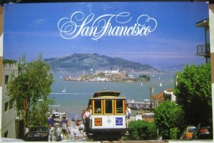 United States San Francisco Cable Car Hyde Street Hill - posted 2014