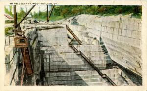 VT - West Rutland. Marble Quarry