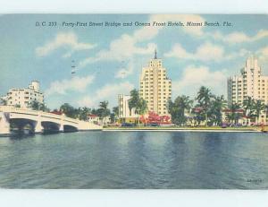 Linen HOTELS AT 41ST STREET Miami Beach Florida FL B2804