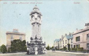 EXETER, Devon, England, PU-1910; Miles Memorial Clock Tower