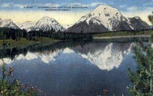 Jackson Lake & The Tetons - Jackson Hole, Wyoming