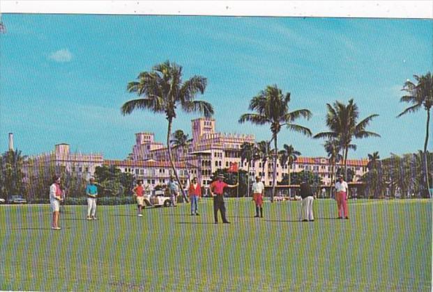 Florida Boca Raton Playing Golf At The Boca Raton Hotel & Club 1970