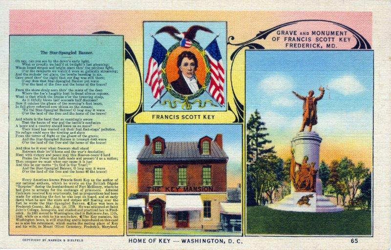 [ Linen ] US Washington, D.C. - Francis Scott Key Home (1)