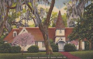 FREDERICA , St Simons Island , Georgia , 1951 ; Christ Church