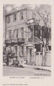 VERNER: Home at 18 Meeting Street Builty in 1806 by Thomas Heyward, Charlesto...