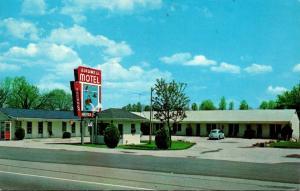 Tennessee La Follette Birdwell Motel 1966