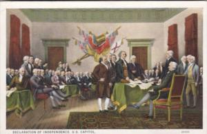 The Declaration Of Independence Curteich