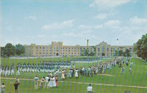 Virginia Lexington The Cadet's June Final Dress Parade On The Campus Of The V...