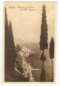 Panorama Dal Bosco Dell'Hotel Cappuccini, Amalfi, Salerno (Campania), Italy, ...