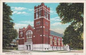 Illinois Galesburg Christian Church