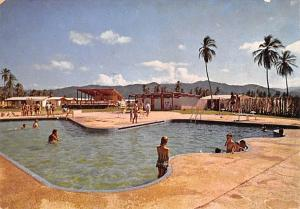 Venezuela Old Vintage Antique Post Card Club Residencial Balneario Carabobo 1964