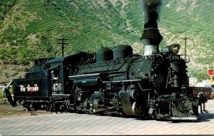 Trains Denver & Rio Grande K-28 MIkado Locomotive #476