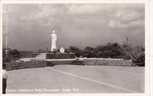 Aruba Oranjestad Princess Wilhelmina Park Real Photo