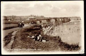 kent, CLIFTONVILLE, Path along Cliffs (ca. 1920)