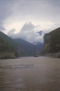 Three Gorges Of The Yangtze River Sichuan China