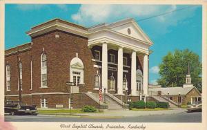 First Baptist Church, PRINCETON, Kentuky, 40-60´s