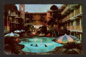 FL Biltmore Motel Pool  FT LAUDERDALE FLORIDA Postcard